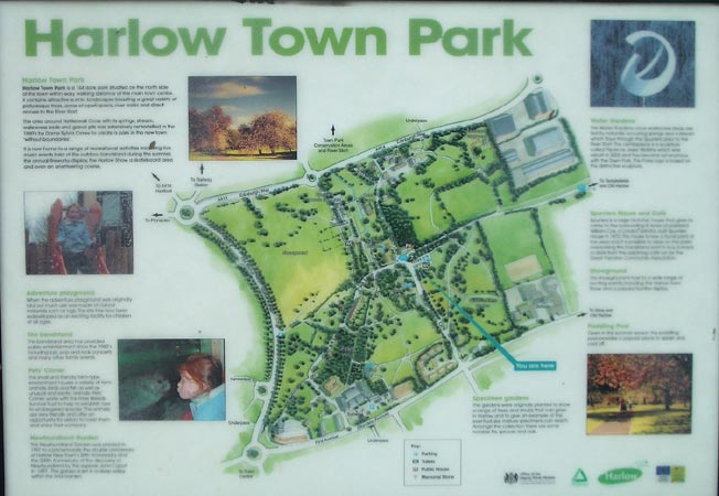Harlow Town Station Car Park Harlow